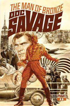 202 best World of Pulp images on Pinterest   Book covers  Comic     Chris Roberson Writes Doc Savage For Dynamite