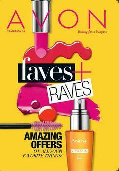 Avon Campaign 18 Brochure. Lots of great deals. Visit my online store @ www.youravon.com/amartinez8866