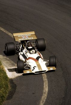 Somebody in a BRM at the 1970 French Grand Prix.