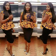 Since  2013 there has been a massive trend towards peplum, whether it's a jacket, dress or a skirt, in fact, they are now some of our most popular items.The simplicity of the Ankara peplum top makes it one of the most preferred styles among fashionistas.The peplum top is a must wear for...