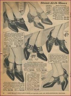 1920s shoes.