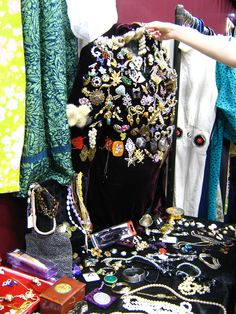Photo is a snap from Newcastle's Affordable Vintage Fair, Northumbria University October 2009.