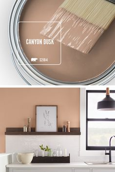 With the new year comes all-new DIY trends from BEHR® Paint. This year, we looked to the worlds of fashion, home decor, and more to choose our BEHR® 2021 Color of the Year. The result is Canyon Dusk, a serenely soothing terracotta shade chose to turn your favorite spaces into comfort havens in your home. Today, let's paint with Canyon Dusk S210-4.