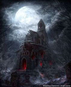 scary church by peterconcept.deviantart.com on @deviantART