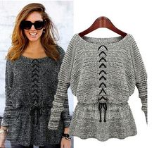 Hot Sale Women Sweaters New 2014 European Fashion Women Pullovers O-neck Slim Tunic Sexy Knitted Sweater Pull Femme Ropas