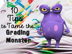 ELA Buffet: 10 Tips to Tame the Grading Monster