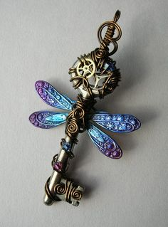 steampunk dragonfly - Google Search