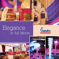 With a wonderful assortment of draperies and chandeliers that creates such a magnificent wedding installation. #ChandraWeddings #RoyalWeddings #DestinationWedding #HeritageWedding