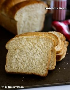 {Recipe} Soft Milk Bread aka Hokkaido milk Bread or Japanese milk bread. Made with Tangzhong (Water Roux) Method