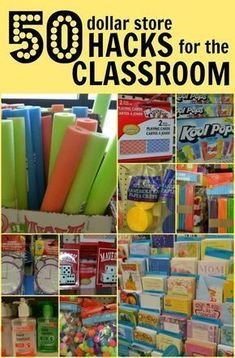It's almost back-to-school season, which means you're about to spend beaucoup bucks on your classroom. Wait just a minute there. We can save you a lot of money with our dollar store hacks. All the items here are things you … Classroom Hacks, Classroom Organisation, Teacher Organization, Teacher Tools, Teacher Hacks, Future Classroom, Teacher Memes, Classroom Teacher, Organizing