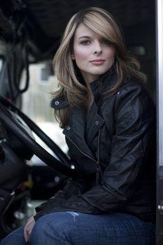 ... Lisa Kelly - Alaskian Ice Road Trucker.
