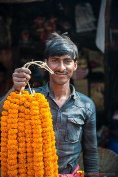 Chaos, Bargaining, Beauty - The Mullik Ghat Flower Market - Kolkata Far East Adventure Travel