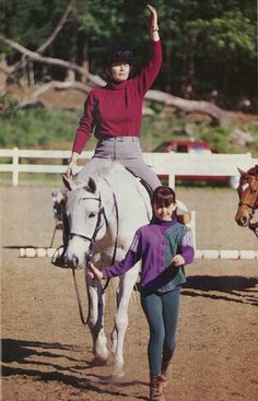 """The late horsewoman Sally Swift gave us wonderful insights into how to use our bodies to become better riders. Learn two of her best tips, plus get links to more of her """"centered riding"""" methods."""