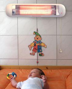 H+H BS 50 Wickeltisch Heizstrahler TÜV/GS-geprüft: Amazon.de: Baby