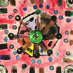 Art. Paper. Scissors. Glue!: Radial Symmetry Prints - great diverse collection