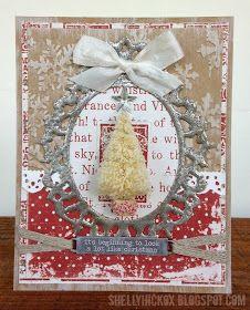 Stamptramp: CC102 - Tarnished Silver Christmas Card