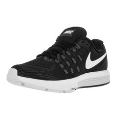 Run like the wind when you lace up in these black from Nike. The mesh promotes some air circulation, while the slightly padded footbed offers a soft landing. Color: Black Fit true to size: Yes Footbed