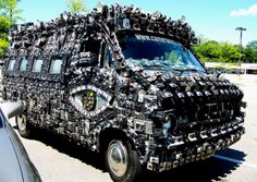 Camera Van: The Art Car by Harrod Blank » Design You Trust