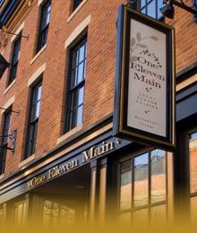 111 Main in Galena, Illinois with awesome gluten free menu which can easily be altered to dairy free as well!