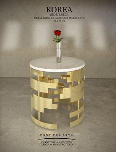 Korea Side table - Pont des Arts - Design Monzer Hammoud - Paris -