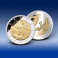 2 Euro Gedenkmünze San Marino 500. Todestag C. Columbus