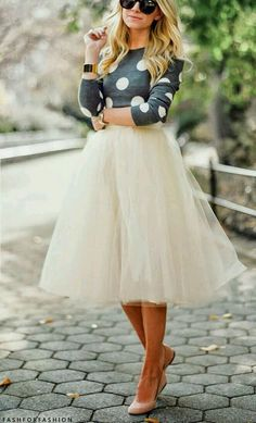 Modest fashion: beautiful outfit