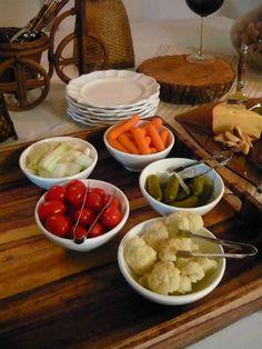 Acompanhamentos para o fondue de queijo