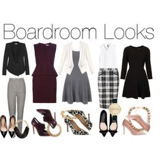 Boardroom Looks for Every Career Girl
