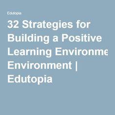 classroom environment theory