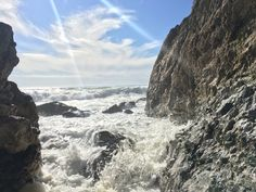 That is one good looking rock... Pacifica CA. [OC][4032x3024]
