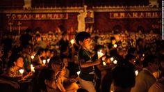 Youth in HK commemorate Tiananmen Square massacre 连香港的民心都难以收复何以期望所谓的九二共识北京政府在当今信息发达的时代还想搞信息闭关锁国显然是挑水填井越是封锁寻求真相的欲望越是强烈 Tens of thousands of people in Hong Kong attended events across the city Saturday to mark the 27th anniversary of the Tiananmen Square massacre in China amid a split in the pro-democracy movement that could radically transform the city's politics. Leading student groups boycotted the decades-old candlelit vigil held in Victoria Park over complaints the event has become…
