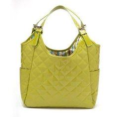 JP Lizzy Pistachio Diaper Bag (Green)