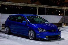 Blue Civic