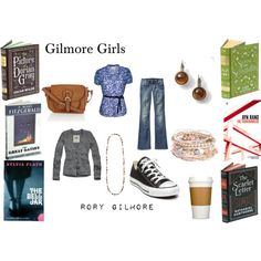 Rory Gilmore, created by #oliviairene14 on #polyvore