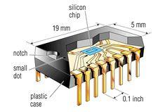 Internal Structure of Integrated Circuit(IC) http://ru.pinterest.com/amiestudycircle/amazing-engineering/
