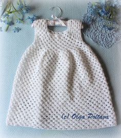 Lacy Crochet: Simple Granny Stitch Crochet Dress, Size 2-3 Years Old, Free Crochet Pattern