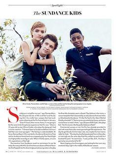 Dit artikel bespreekt bondig hoe de drie jonge hoofdacteurs een grote indruk maakten op het Sundance Film Festival.