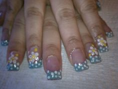 Spring nails by Maria.