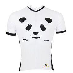 ILPALADINO Panda Men s Cycling Short Sleeve Bike Shirt Quick Dry Exercise Bicycling  Pro Cycle Clothing Racing 0207818af