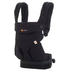 aa8a49acf30 Ergobaby 360 All Carry Positions Ergonomic Baby Carrier - Pure Black
