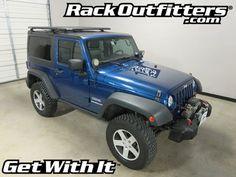 Jeep Wrangler 2 Door Rhino-Rack BackBone RLCP39 Pioneer Platform '07-'16*