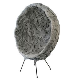 New Zealand-based fabric designer Timothy John has created the Woven Series from steel wire and industrial felt. Looks beta, but interesting.
