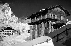 Franco Albini - Albergo rifugio Pirovano, Cervinia 1952