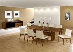 Nice Chocolate Dining Room