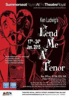 Lend Me a Tenor by Summerseat Players 17th - 24th January 2015