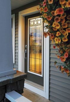 Improve the curb appeal of your home with a door from Cincinnati Entry Point. #housetrends https://www.housetrends.com/specialist/Cincinnati-Entry-Point