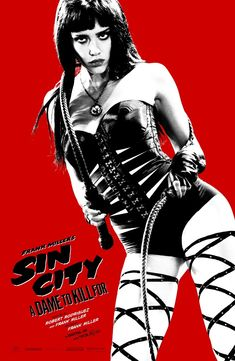Comic-Con poster for Sin City: A Dame to Kill For. #Poster #SinCity #ADameToKillFor