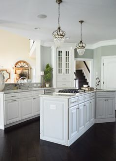 Love the fresh, clean look with gray and white