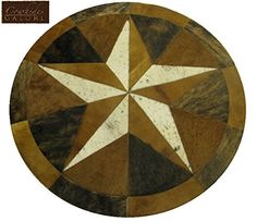 "40"" Round Single Star Cowhide Area Rug Cowhides Galore http://www.amazon.com/dp/B00TXY4S9I/ref=cm_sw_r_pi_dp_oE6zwb09K1KTZ"