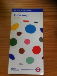 Tube map via Maniscalco Sheridan - I like the quirky design on this cover, it is unique and different. Transport Map, London Transport, Public Transport, London Underground Tube Map, Mayor Of London, Commute To Work, Design Museum, Best Cities, Great Britain